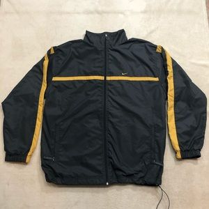 Nike Men's Vtg Gray Track Jacket, Size X-Large